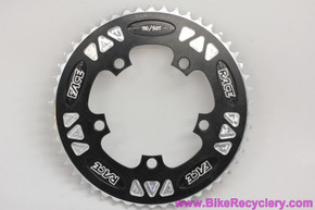 Race Face DH CNC Chainring: 50t x 110mm - Vintage 1990's - Black - Cutouts (MINT)
