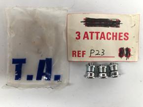 NIB/NOS TA Pro 3 Attaches Pista Chainring Bolt Set: REF P23 - Single Ring