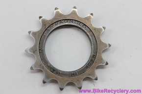 "Campagnolo Steel Pista / Track Cog: Record #763 - 14t x 3/32"" - English (EXC)"