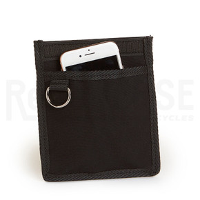 Berthoud Cell Phone Interior Pocket: Black on Black Canvas (NEW)