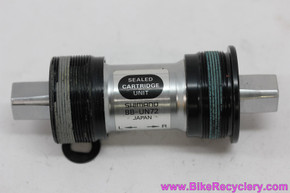 NOS Shimano XT/Ultegra BB-UN72 Square Taper Bottom Bracket: 107 x 70mm Italian