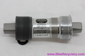 NOS Shimano XT/Ultegra BB-UN73 Square Taper Bottom Bracket: 110mm x 73mm English