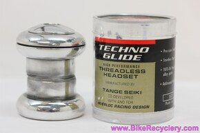 "IRD TechnoGlide 1"" Threadless Headset: Custom Polished w/ No Logos! (NEW)"