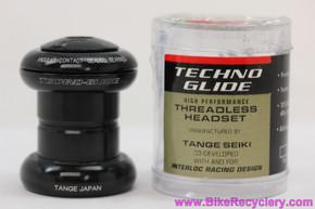 "IRD TechnoGlide 1"" Threadless Headset: Black Anodized (NEW)"