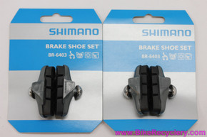 NOS Shimano 600 BR-6403 / 6400 Tri Color Brake Pads (set of 4)
