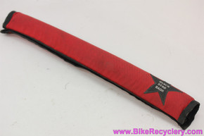 Black Star Bags Top Tube Pad: Red (EXC+)