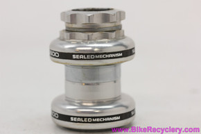 """Shimano 600 EX HP-6207 Headset: 1"""" Threaded - Silver (MINT)"""