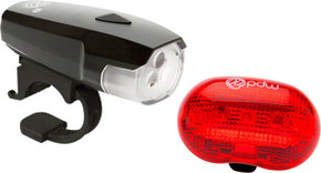 PDW Spaceship 3 Headlight + Red Planet Taillight Set (NEW)
