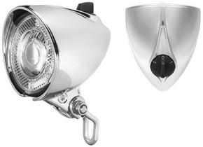 Busch + Müller Lumotec Classic T Senso Plus Dynamo Headlight: Silver - 30 LUX (NEW)