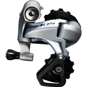 Shimano 105 11-Speed Rear Derailleur: RD-5800 - SS Short Cage - Silver (NEW)