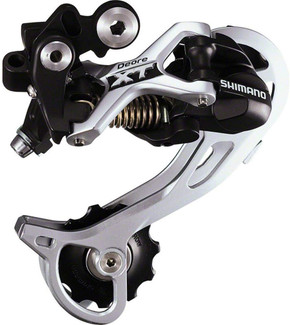 Shimano XT RD-M771 9 Speed Rear Derailleur: SGS Long Cage (NEW)