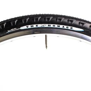 Sim-Works The Homage Gravel Tires: 700c x 43mm - Black - Folding (Pair, NEW)