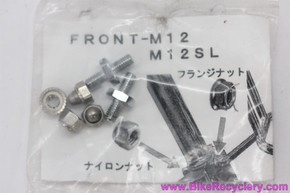 Nitto M-12 / Campee Rack Hardware Set: Cantilever Stud Bolts & Crown Nuts (NEW)