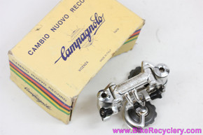 NIB/NOS Campagnolo Nuovo Record Rear Derailleur: Pat 1984 (only box top)