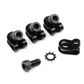 Velo Orange R-Clamps: 5mm - Set of 4  - Black / Noir (NEW)