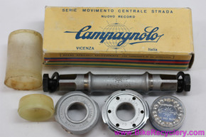 NIB/NOS Campagnolo Nuovo Record Pista Bottom Bracket: 109mm X 68mm English - #1046 (take-off)