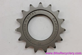"NOS Campagnolo C-Record Pista Track Cog: 15t x 1/8"" - FRENCH - Alloy"