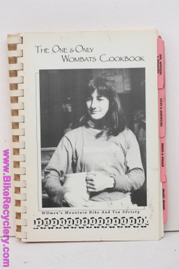 The One & Only WOMBATS Cookbook: Jacquie Phelan - Seriously RARE Piece of Women's Mountain Bike History - 1990