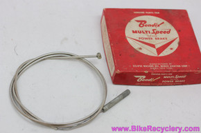"NIB/NOS Bendix Power Brake Cable Assembly: 51"" Long - MS-51 / MS-55 / MS-57 / MS-60"