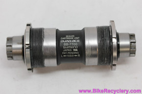 Shimano Dura Ace Octalink Bottom Bracket: BB-7700 - 109.5mm x 68mm (Almost NOS  <30 Miles)