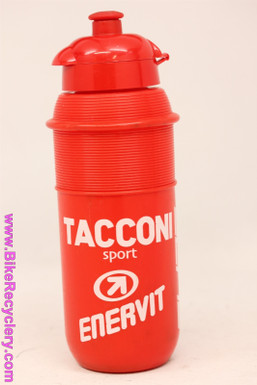 NOS Vintage Water Bottle: Carrera Taconi Sport Italian Racing Team - Red