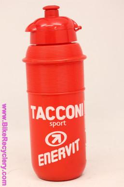 NOS Vintage Water Bottle: Carrera Taconi Sport Italian Racing Team - Red