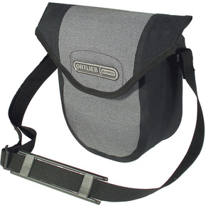 Ortlieb Ultimate 6 Compact Handlebar Bag: Waterproof - Black/Granite (NEW)