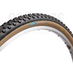Rene Herse Compass Pumpkin Ridge TC 650b x 42 Tires: Extralight Casing - Tubeless Ready - Tan (New Pair)