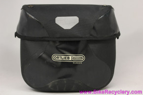 Ortlieb Ultimate 6 Classic 7L Large Handlebar Bag: Waterproof - Black/Granite (NEW)