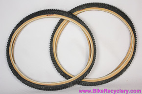 NOS Specialized Ground Control Extreme Gumwall Tires: 26 x 1.95 - Vintage 1990's - Wire - (PAIR, Pristine)