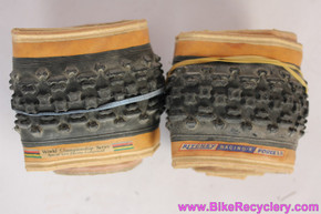 "Ritchey Force Racing-K W.C.S Gumwall Tires: 26 x 1.9"" - Kevlar Folding - Vintage 1990's - 465g (PAIR)"