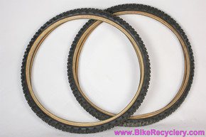"Ritchey Z-Max Tires: 26 x 2.1"" - Kevlar Folding - Vintage 1990's (PAIR)"