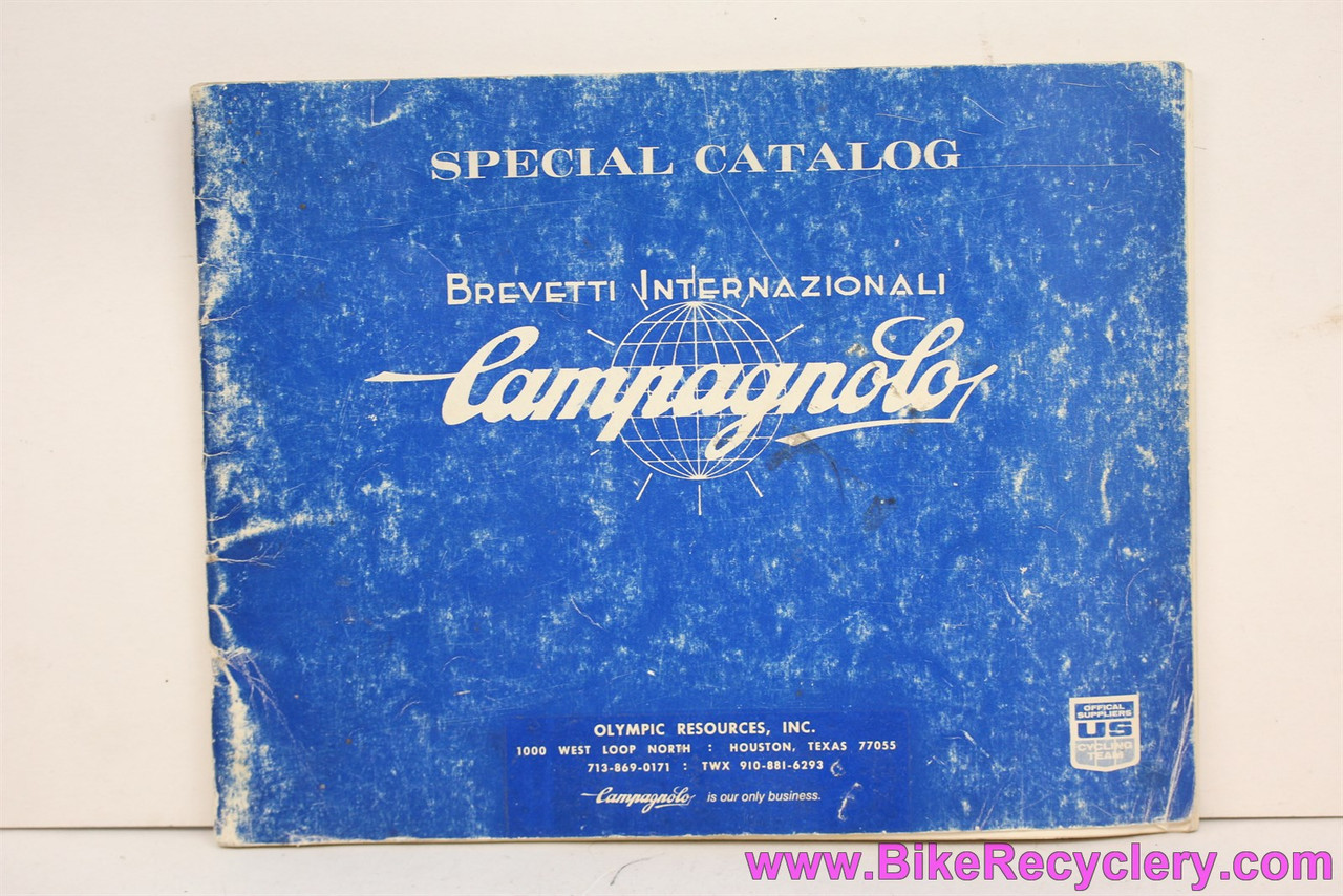 """1996 Campagnolo /""""Campy/"""" Catalog 6/"""" x 8/"""" pages"""
