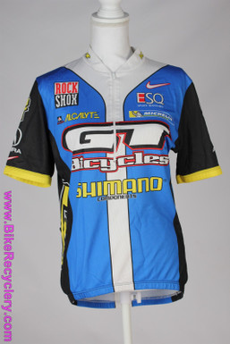 GT MTB Team Jersey: XL Short Sleeve - Vintage 1990's - Acura - ESQ - Nike -  Acalyte - Michelin - Blue/Yellow/White (Near Mint)