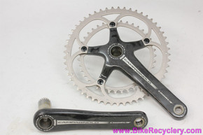 NOS Campagnolo Chorus CARBON Ultra-Torque 10 Speed Crankset: 2008 - 172.5mm - 53/39T x 5 Bolt - (Take-Off)