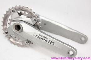 Shimano Deore LX FC-M580 Crankset: Hollowtech-II - 175mm x 32/22t - Grey (Near Mint+ Barely Ridden)