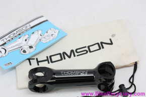 "Thomson Elite X4 Mountain Bike Stem: 1 1/8"" -  130mm x 31.8mm x 0D - Black (NEW)"