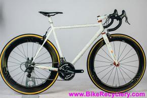 Vanilla Speedvagen Steel Road Bike: 54cm - ENVE SES 6.7 - Chris King Mango Kit - Campagnolo Super Record 11s - Quarq - ZIPP - SWorks - 16lbs (EXC++)