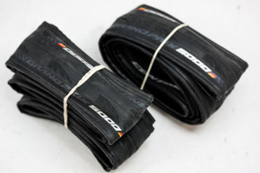 Continental Gran Prix 5000 Tires (PAIR): 700x25c - Black (NEW)