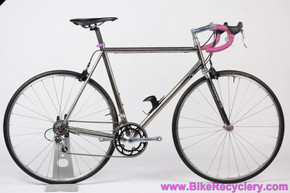 Titanium Sandvik Road Bike:  56cm - Wound Up - Record/Chorus 9sp - TA Zephyr - TRP R979 - H+Son - 3DV Purple - 18lbs (Show Condition)