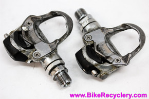 Campagnolo Chorus Pro Fit Clipless Pedals: Silver (Perfect Bearings but ugly)