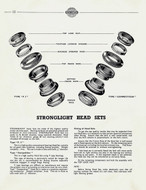 1950's Stronglight Bicycle Catalog