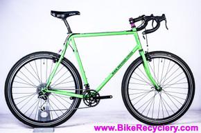 "Black Mountain Monster Cross Adventure/Gravel Bike: ""64cm""/61cm - Paul Moto/Touring 3DV - White Industries QBC - Dura Ace - XT - Up To 700x50c - Rack/Fender Mounts (Near New <500mi)"