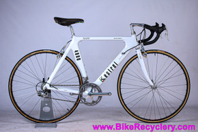 1987 Kestrel 4000 Brent Trimble Monocoque Carbon Road Bike: 55cm - 1st Year! C-Record & Record Ti 8sp Ergo 95-97 - Delta - Mavic G.L. 330 (EXC+)