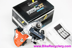 NIB/NOS Shimano Deore XT RD-M735 SS Rear Derailleur: SHORT CAGE Racing Version