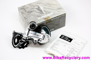 NIB/NOS Shimano Dura Ace RD-7700 GS Mid/Long Cage Rear Derailleur: 9 Speed Triple (Rare)