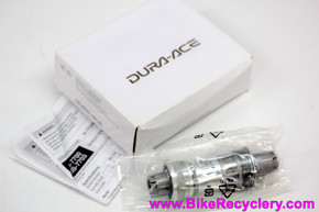 NIB/NOS Shimano Dura Ace BB-7703 Bottom Bracket: TRIPLE 118.5mm x 68mm English