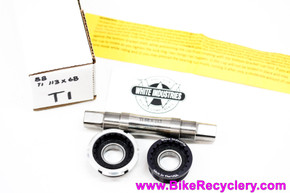 White Industries ENO/VBC Titanium Bottom Bracket: 113mm x 68mm English (NEW)