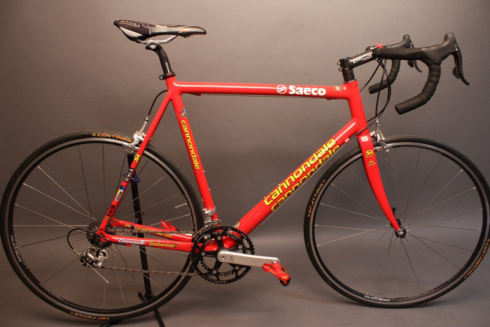 58cm Cannondale R5000 Team Saeco Hollowgram Si Full