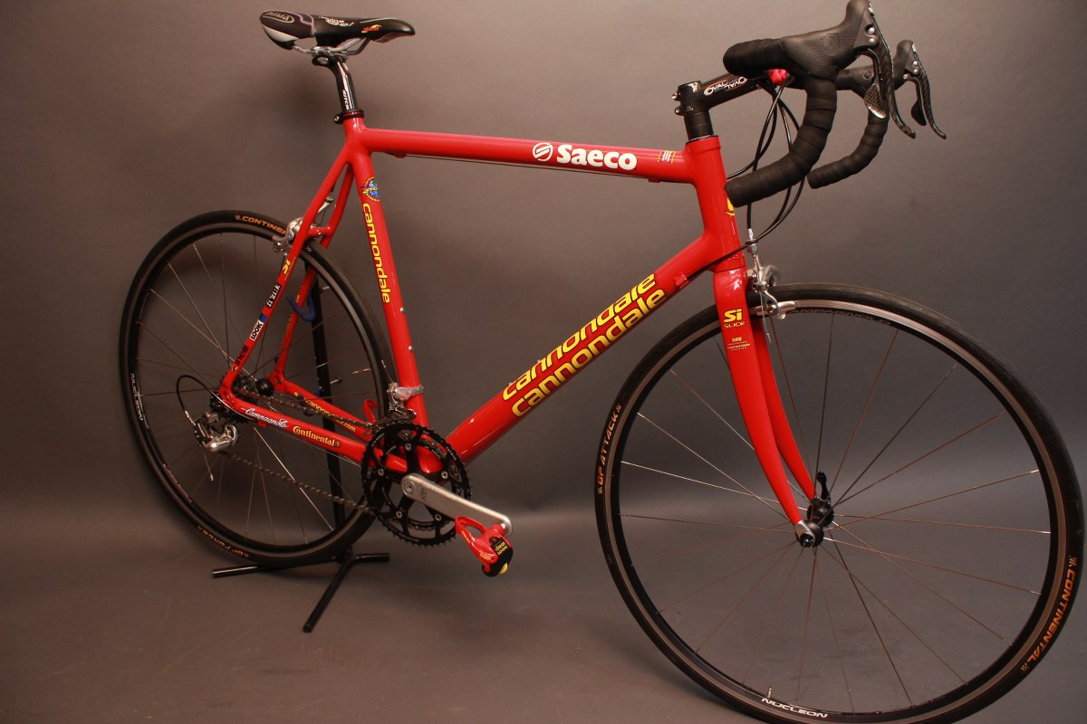 faa8bec6795 58cm Cannondale R5000 Team Saeco: Hollowgram Si, FULL Record 10 ...